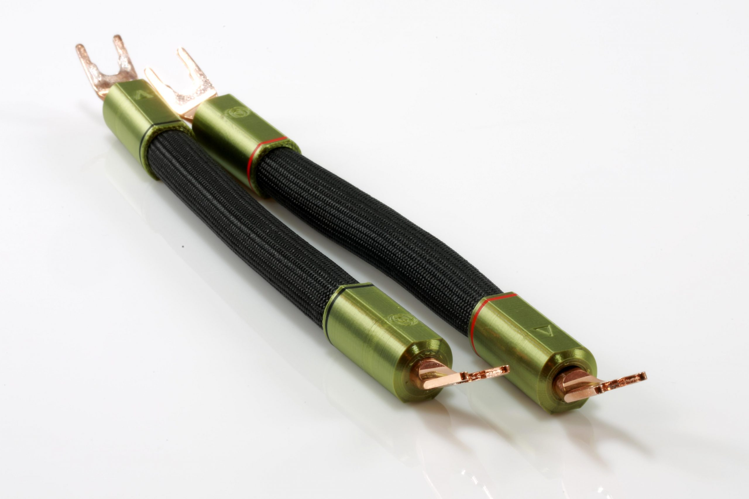 Delta Cavaliers de borniers d'enceintes HP straps Odeion Cables