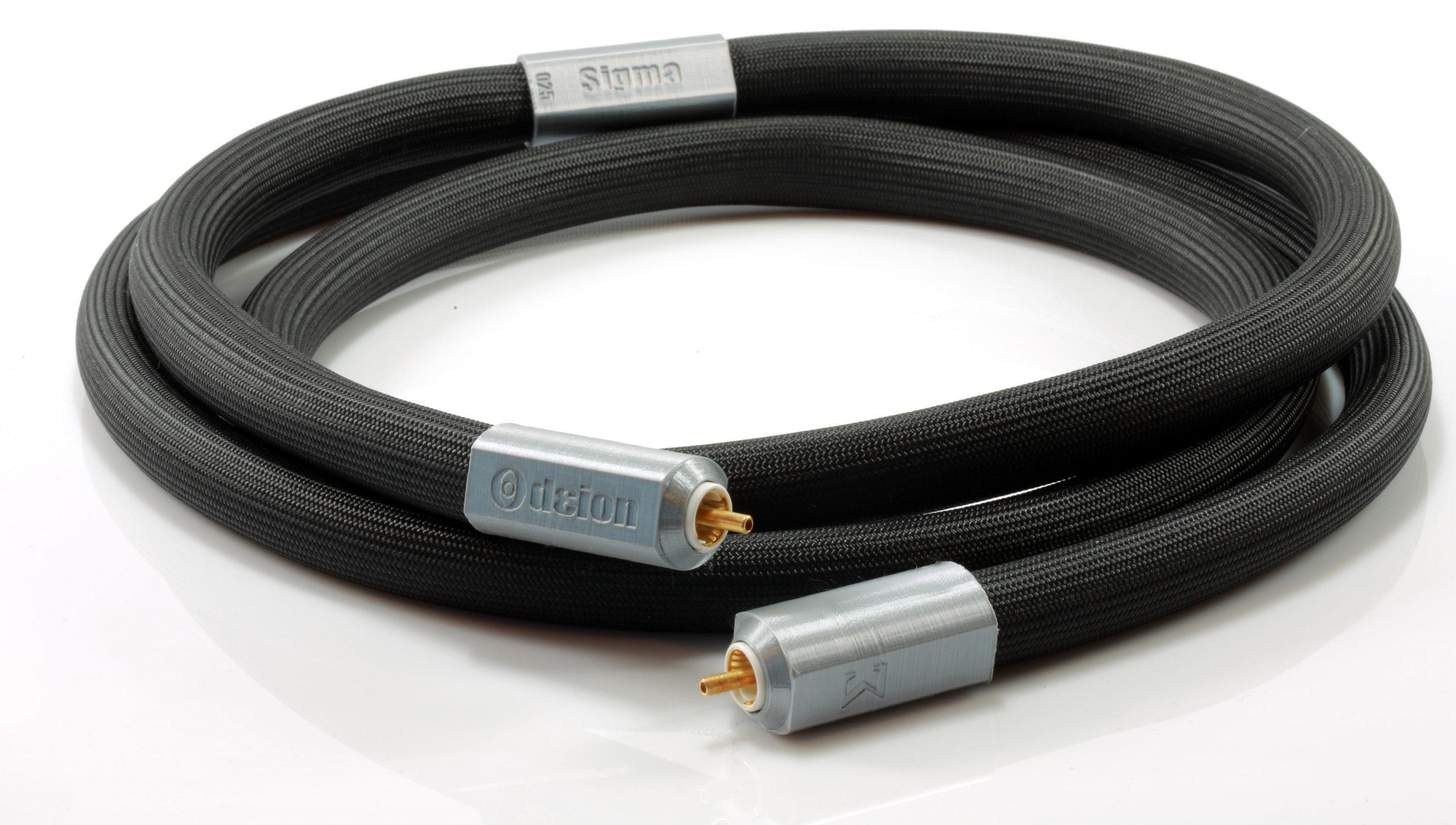 Sigma modulation mono sub rca graves basses odeion cables