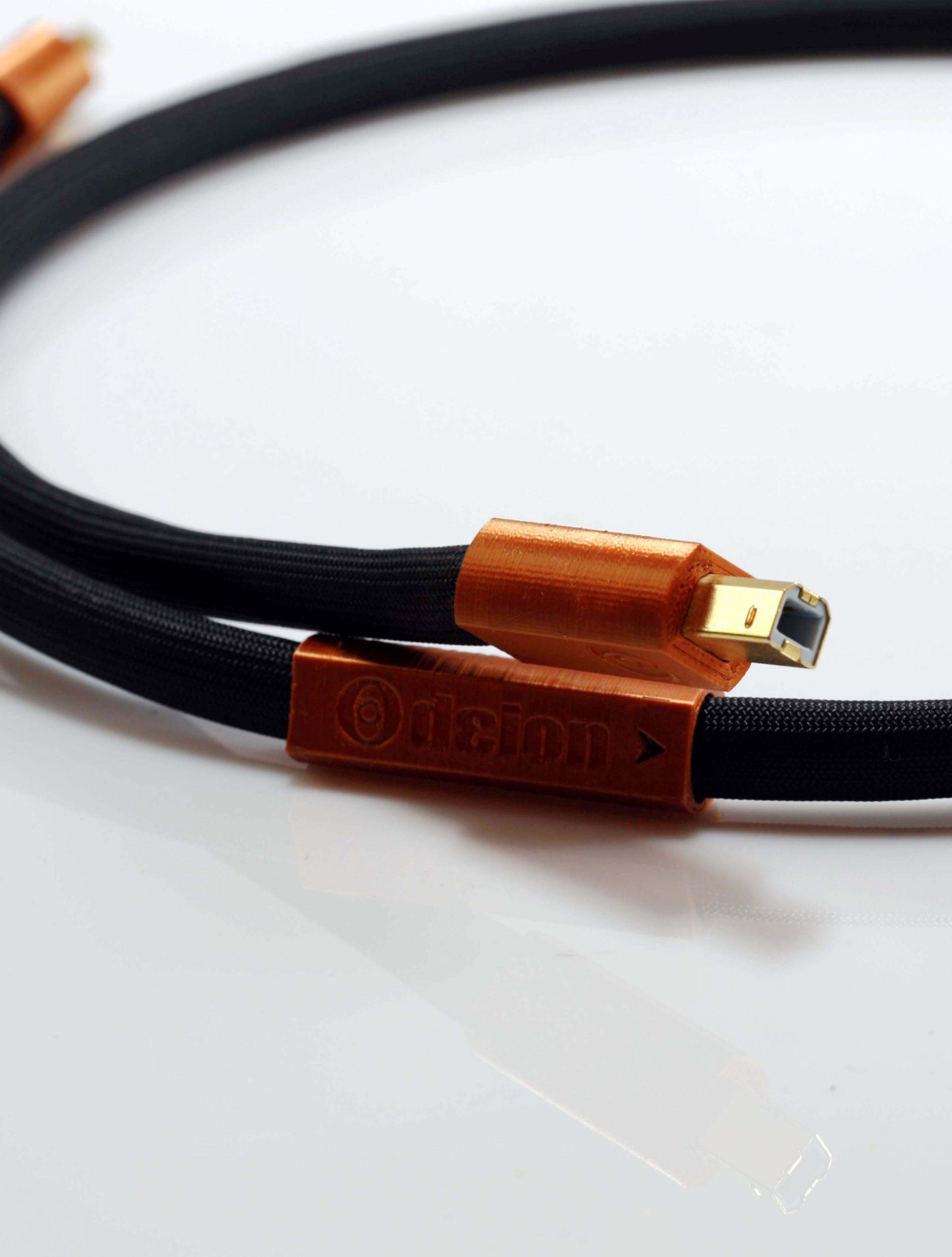 Epsilon Numérique USB Digital Odeion Cables (détail)
